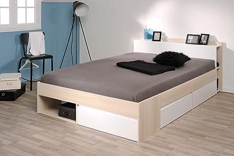 Letto per Ragazzi Morris 5 Acacia NB 140 X 200 Single letto Ospite ...