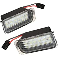 MuChangZi 2Pcs 6000K Blanco 18-SMD LED Conjunto