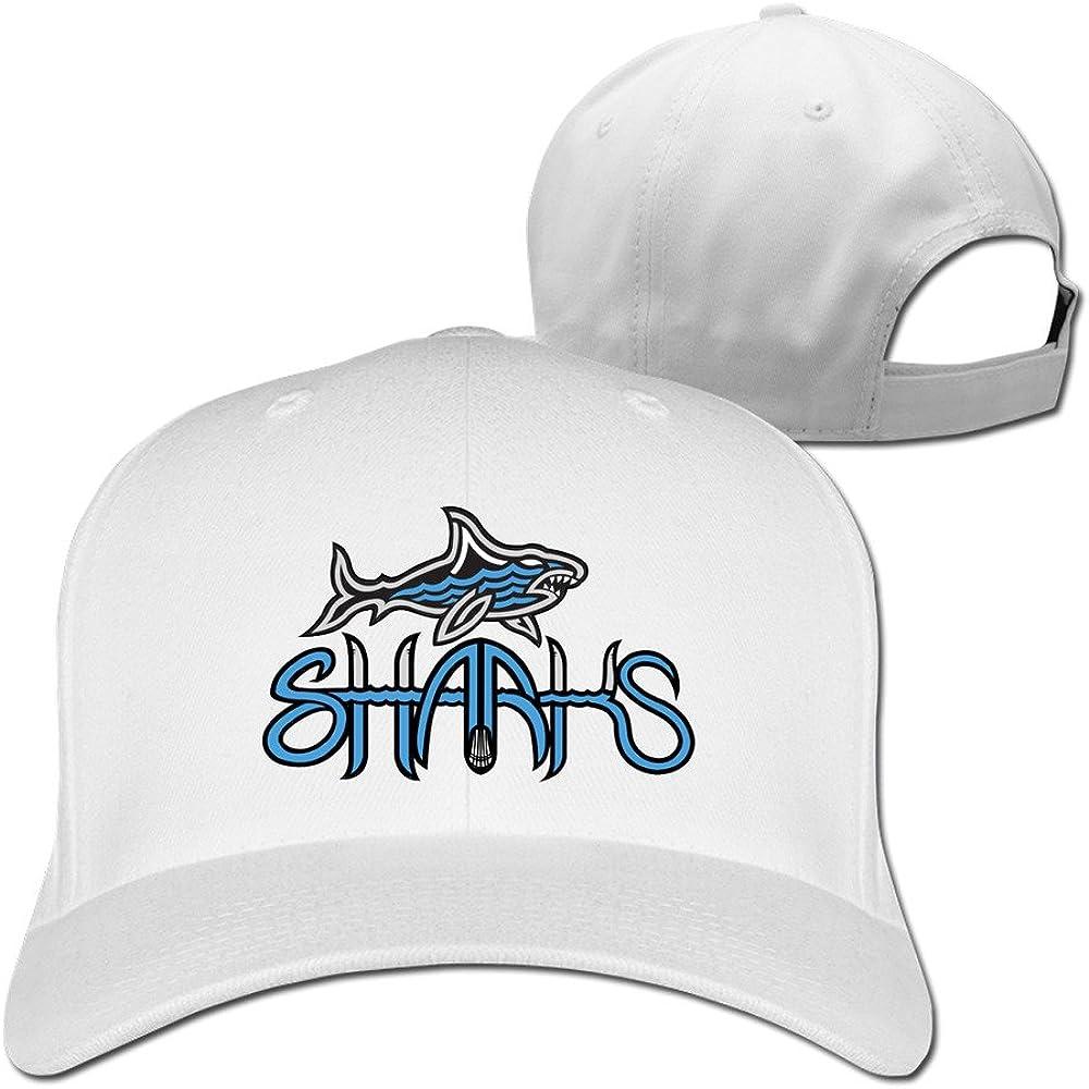 Shark Baseball Cap By Cnlowter