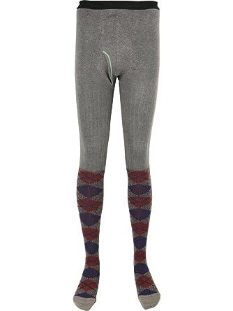 Amazon N Platz Mens Argyle Pattern Cotton Knit Footed Thermal