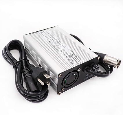 DeHawk Charger Kit DC483-48V Lithium Battery Charger Output 54.6V 3A for Electric Bike Batteries
