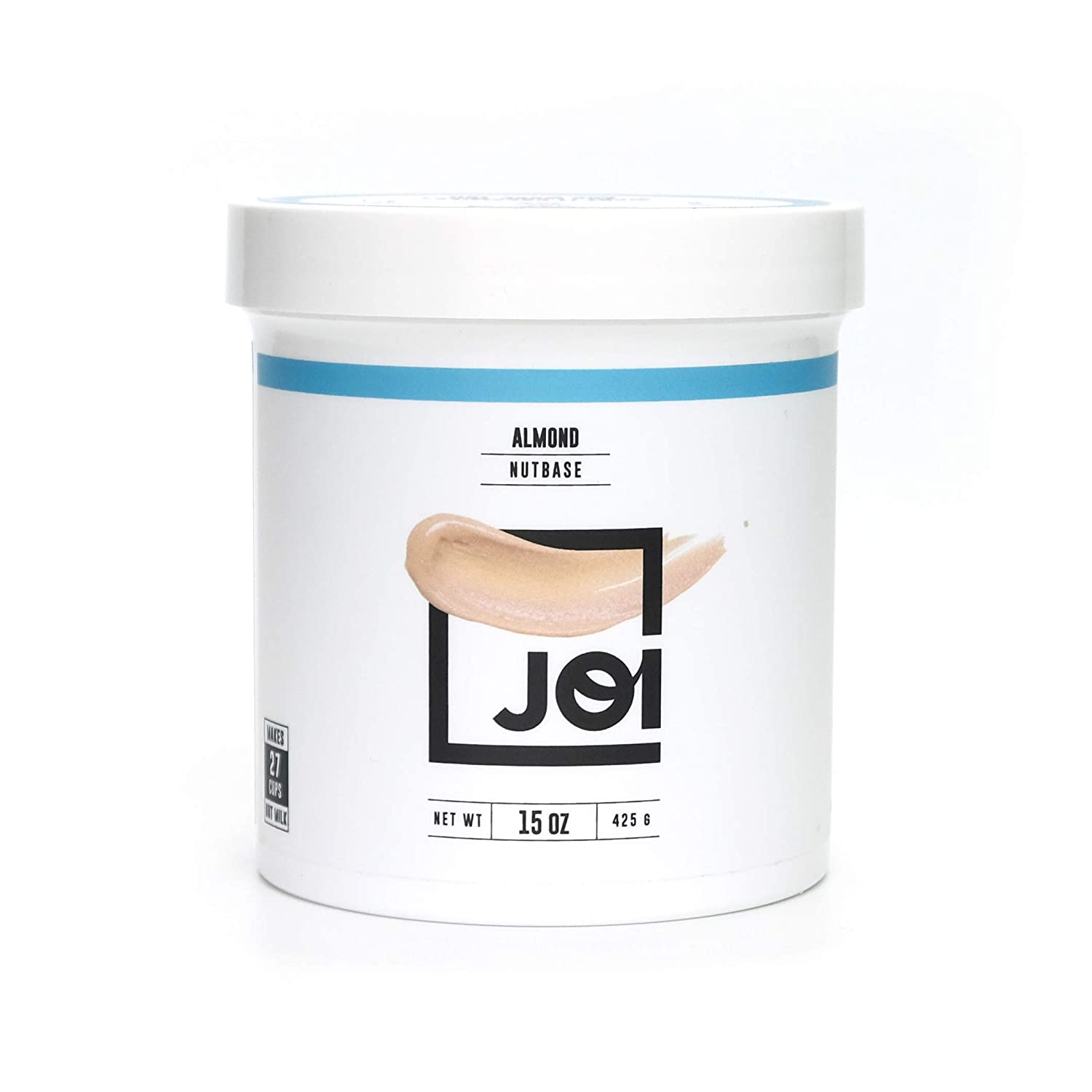 Almond Milk Concentrate by JOI | Make Your Own Fresh Almond Milk | Whole30 Approved; Just One Ingredient | Unsweetened without Gums or Emulsifiers | Vegan, Keto, Paleo Friendly | 15 oz. | Makes up to 7 Qts