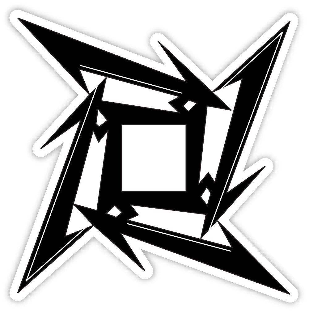 Amazon.com: METALLICA NINJA STAR sticker decal 4