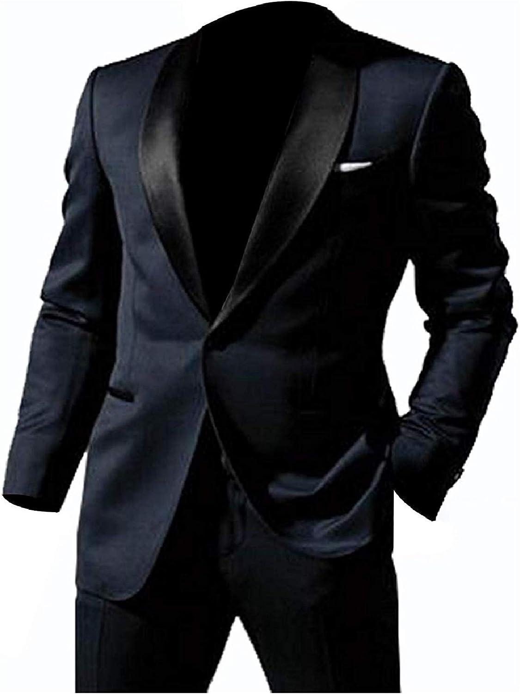 Nmfashions Mens Skyfall James Bond Midnight Blue Tuxedo Suit