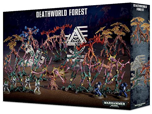 Warhammer 40K Deathworld Forest Scenery Kit Games Workshop 64-97