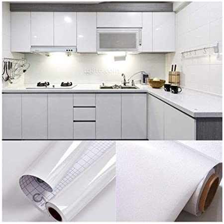 SOLDGOOD 55M X 061M PVC Back Sticky Self Adhesive Kitchen Wallpaper Rolls Stickers For