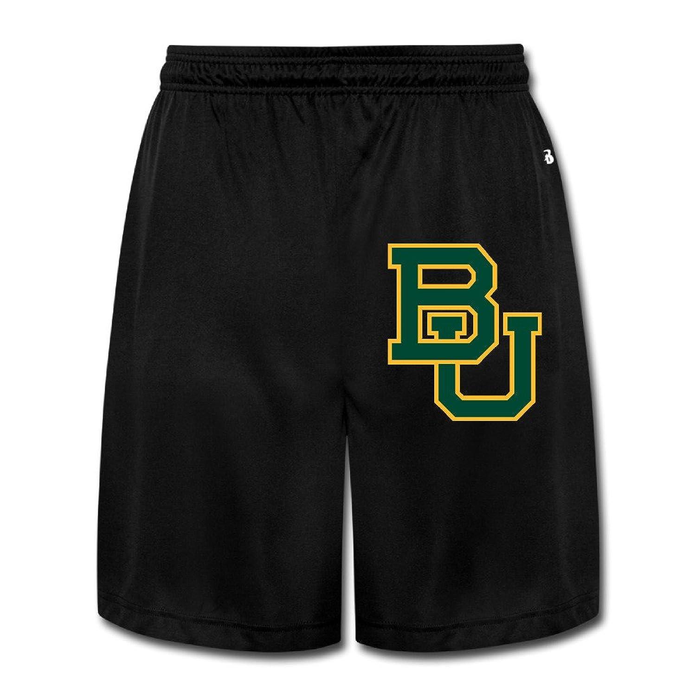 78ad8191869 durable service MVIKI Baylor University BU Logo Short Home Wear Pants For  Men Black