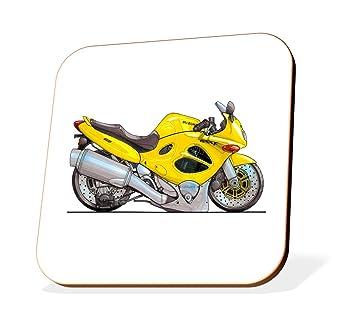 K704-CST Koolart Gifts Cartoon Suzuki GSX600-F Motorcycle Wooden Coaster for Cups & Mugs (Motorbike Gifts & Gift Ideas): Amazon.co.uk: Car & Motorbike