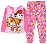 Paw Patrol Little Girls Toddler Skye Cotton Pajama Set