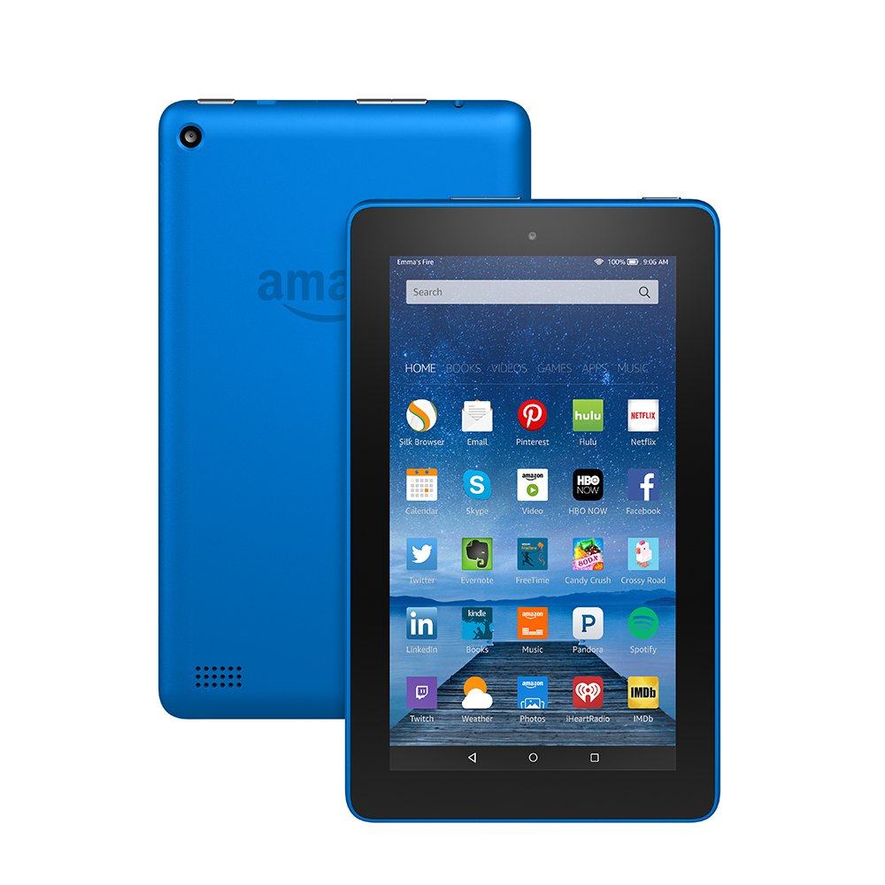 Fire Tablet, 7″ Display, Wi-Fi, 8 GB