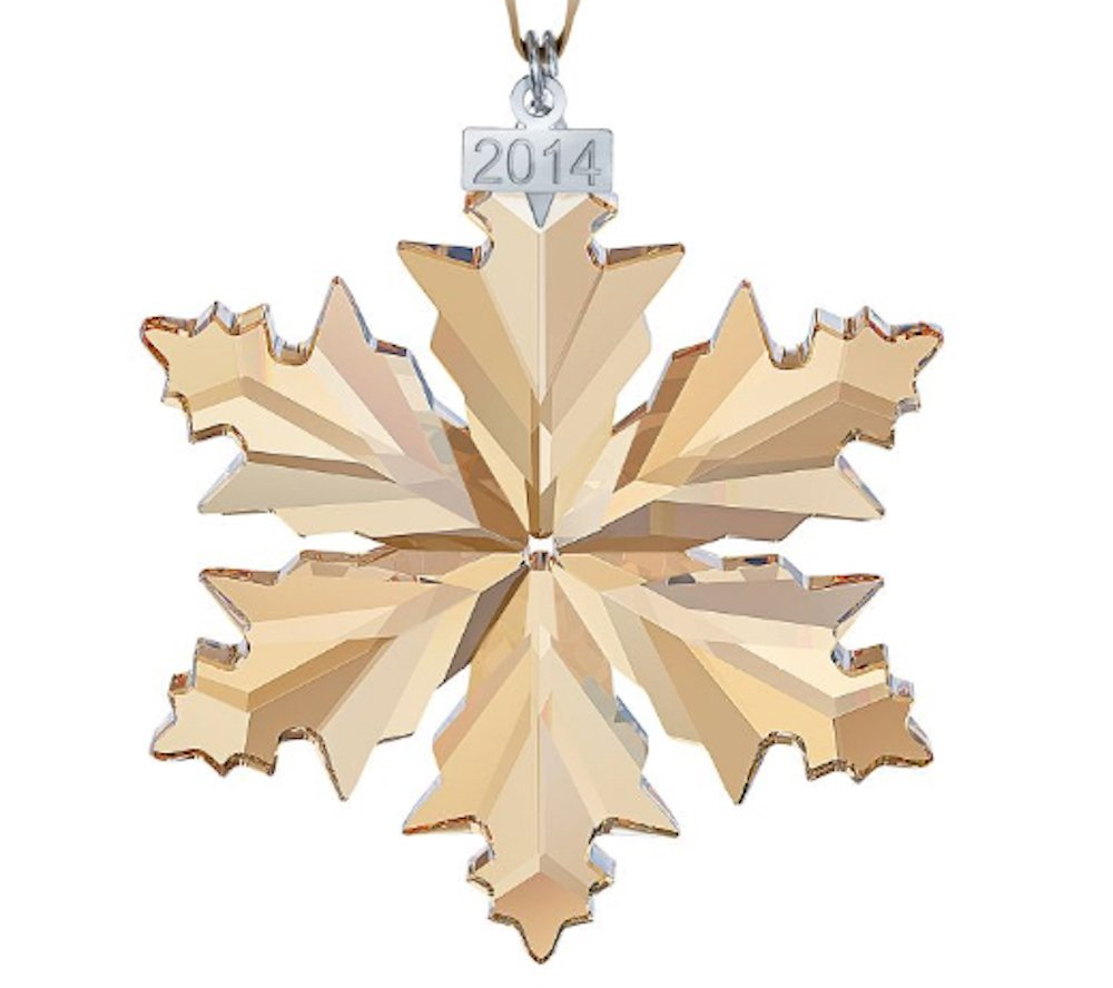 Swarovski Annual Edition SCS Christmas Ornament, 2014