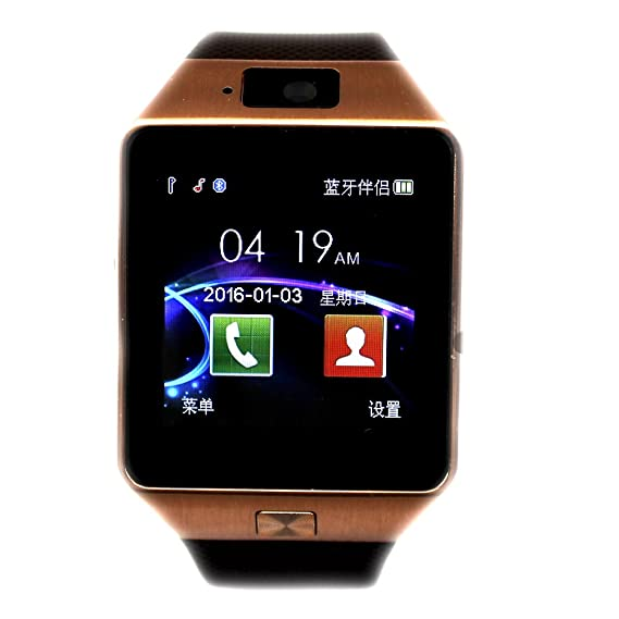 Amazon.com: COLOFAN Bluetooth Smart Watch DZ09 Smartwatch ...