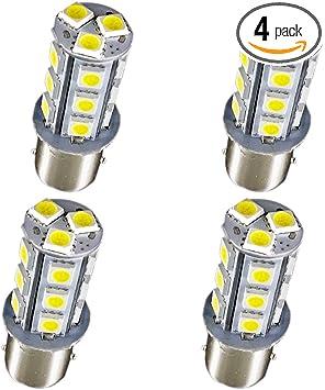 2PCS T15 3014 SMD 6000K SuperWhite Led Car Tail Backup Reverse Light Bulbs 12V