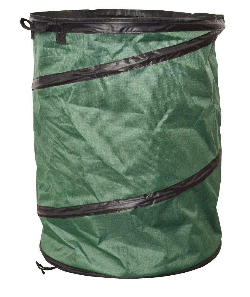 Pop Up Leaf Trash Can Easy Storage,Gardening Pop Up Bag Collapsible Polyester Bags Folding Garden Tools Reusable Yard Waste Bag