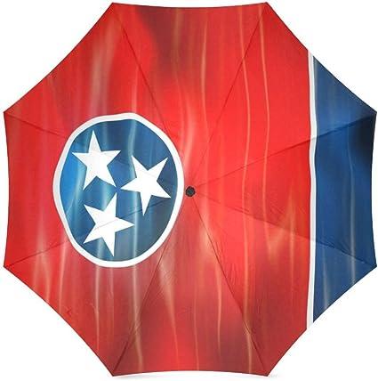 Custom Oregon State Flag Compact Travel Windproof Rainproof Foldable Umbrella