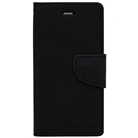 low priced f19ec ca022 Mobile Life Mercury Flip Wallet Diary Card Case Cover for Sony Xperia M  C1904 (Black) by Mobile Life
