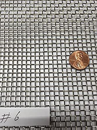 Amazon Com Asc Stainless Steel Mesh 304 6 035 Wire