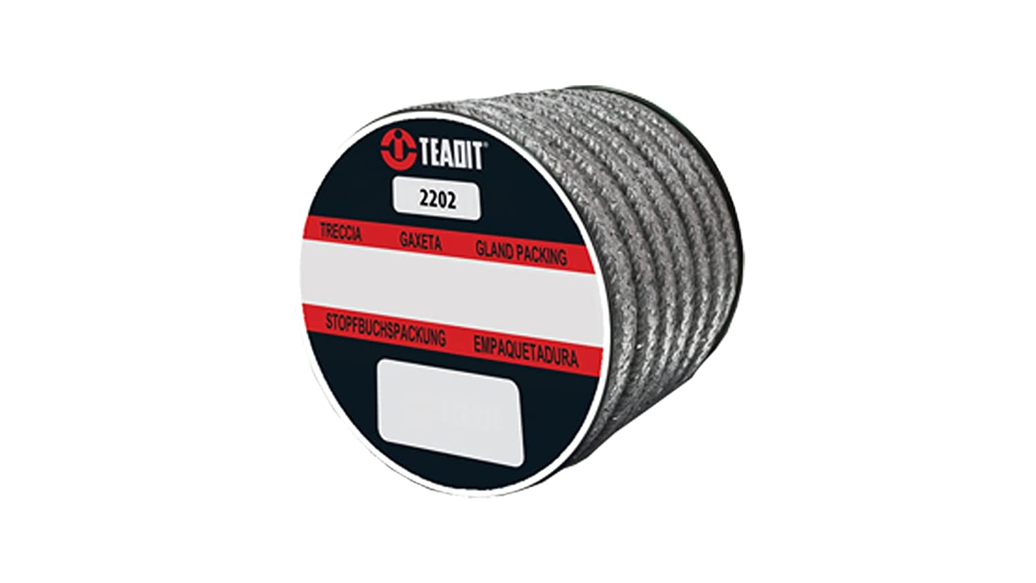 Sterling Seal and Supply 2202.562x10 Teadit Style 2202 Flexible Graphite with Carbon Corners Spool STCC Spool 9//16 CS x 10 lb 9//16 CS x 10 lb