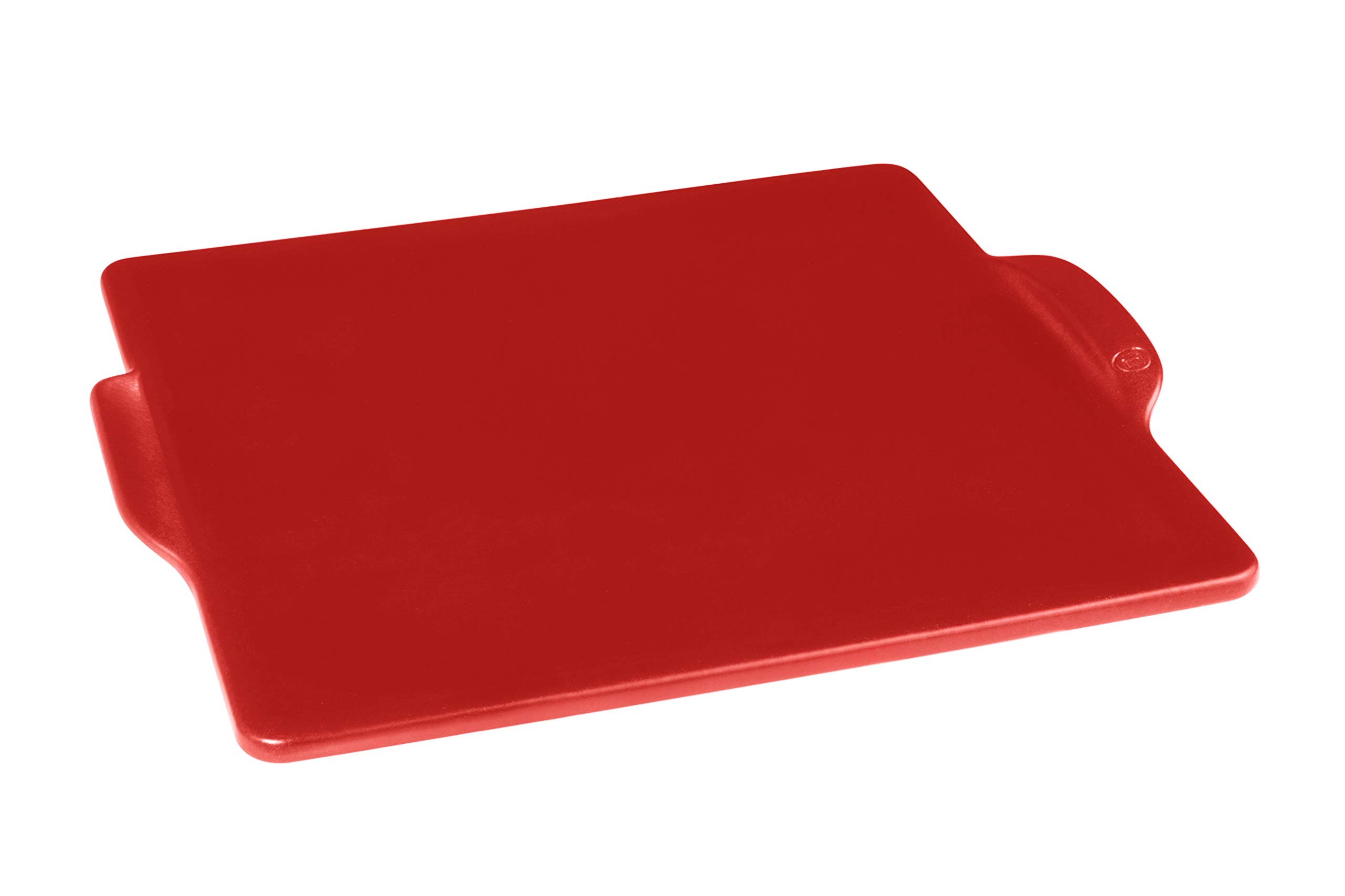 Emile Henry 347524 Square, Burgundy pizza stone, 14 in. x 14 in. in, by Emile Henry