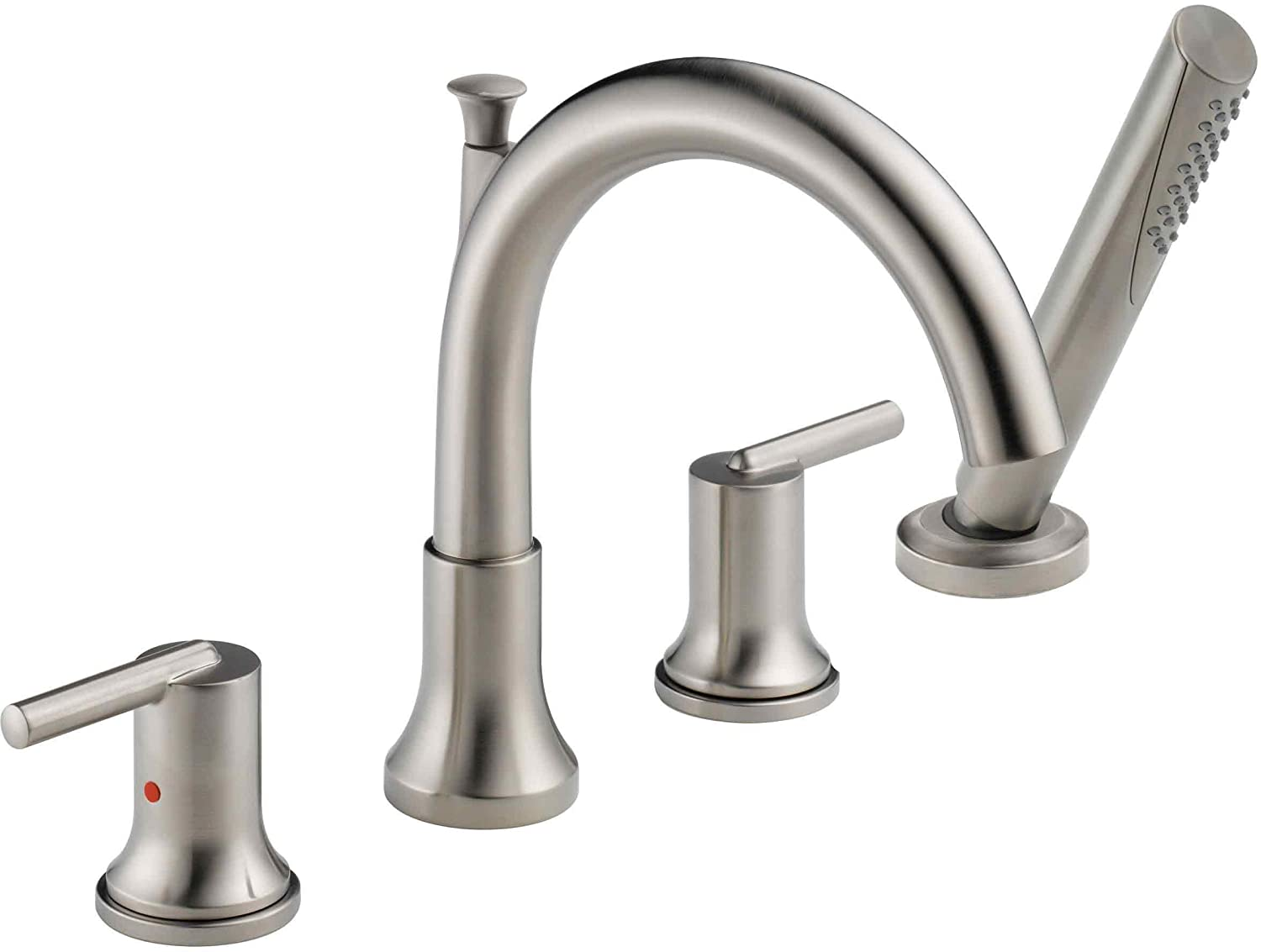 Delta Faucet T4759 Trinsic, Roman Tub with Hand Shower Trim ...