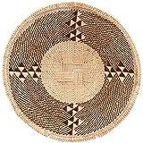 Fair Trade Zimbabwe African Masterweave Binga Basket 8.25-10'' Across, #ZW10.59967