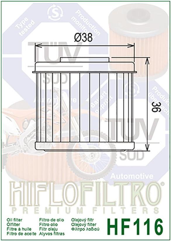 /Ölfilter Hiflo HF116