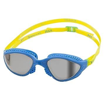 KONA81 Barracuda Gafas de Natación Goggles K945 Lentes de Espejo Triatlón Antiniebla Protección Anti-Rotura