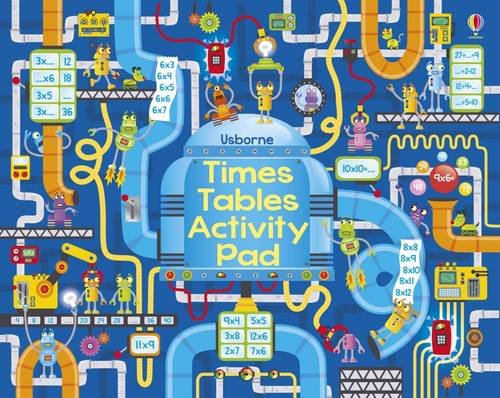Times Tables Activity Pad (Timetable Book)