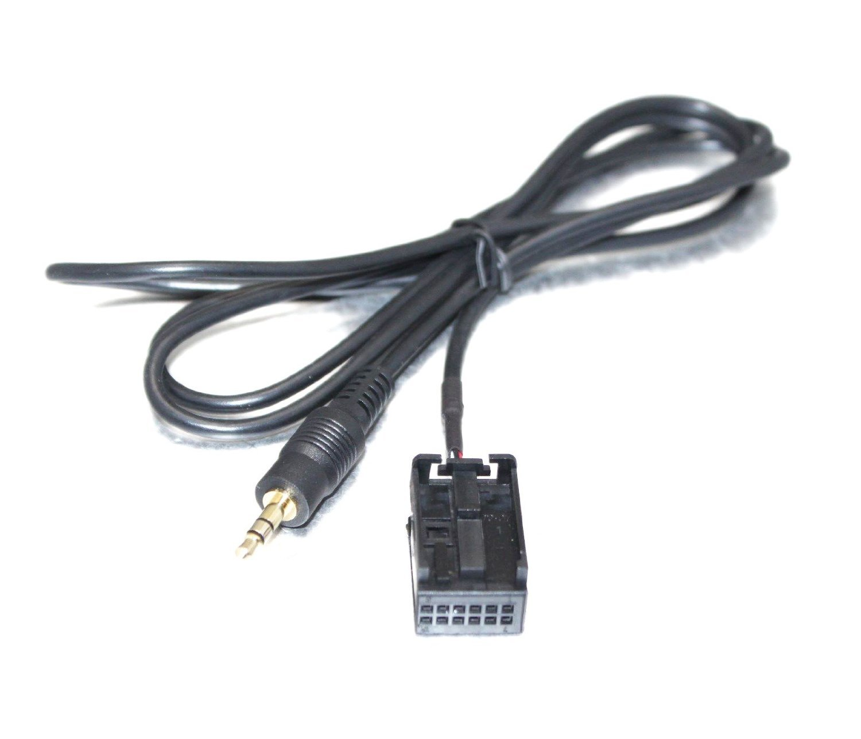 MP3 3.5mm Aux Audio cavo adattatore di ingresso per iPod iPhone a OPEL CD30 CD70 Goliton