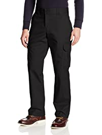 40dada7900 Dickies Mens Regular Straight Stretch Twill Cargo Pant Big-Tall Work  Utility Pants