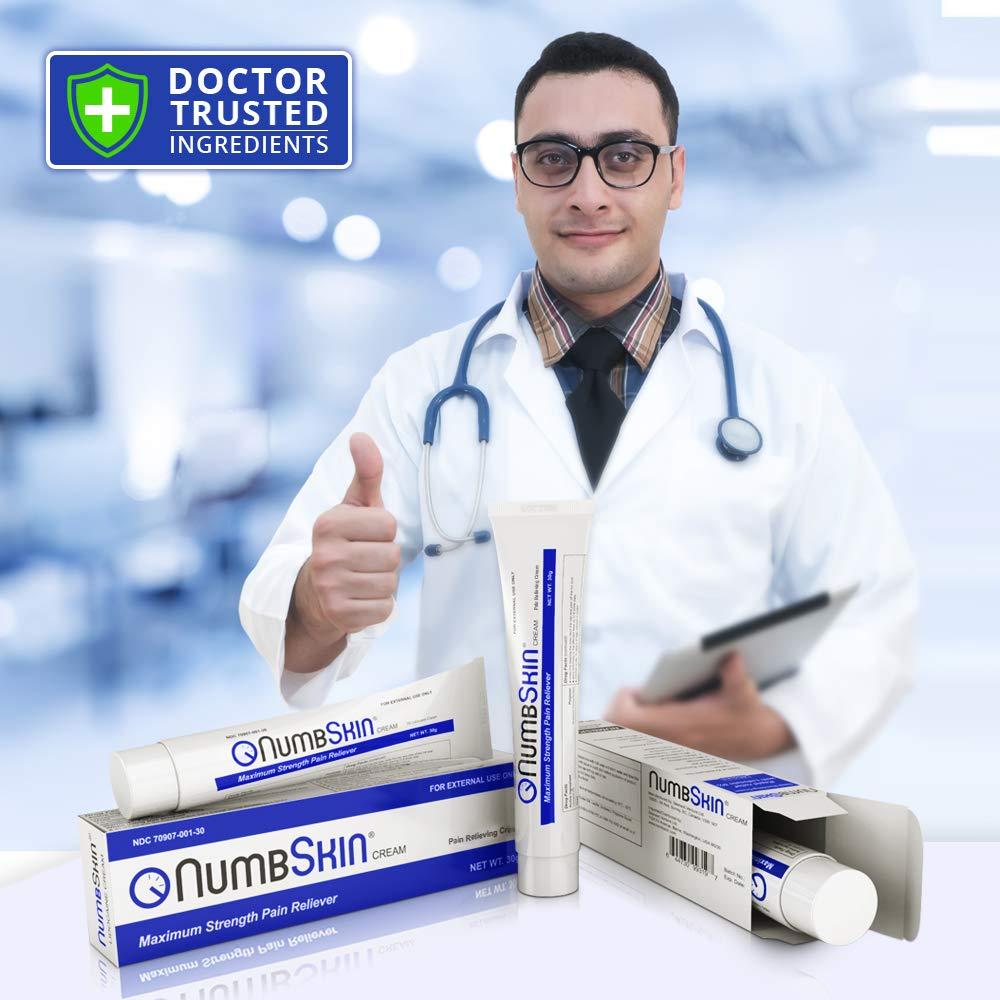 NumbSkin Anesthetic Numbing Cream (Non-Prescription) 30-gram by Numbskin