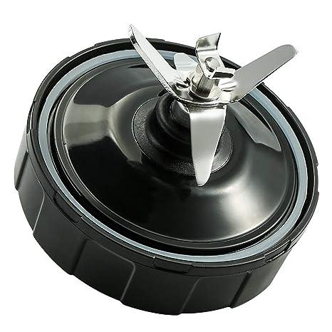 Yinroom Cuchilla para Ninja Blender Hoja de Repuesto de 7 Aletas Inferior y 1 Junta de