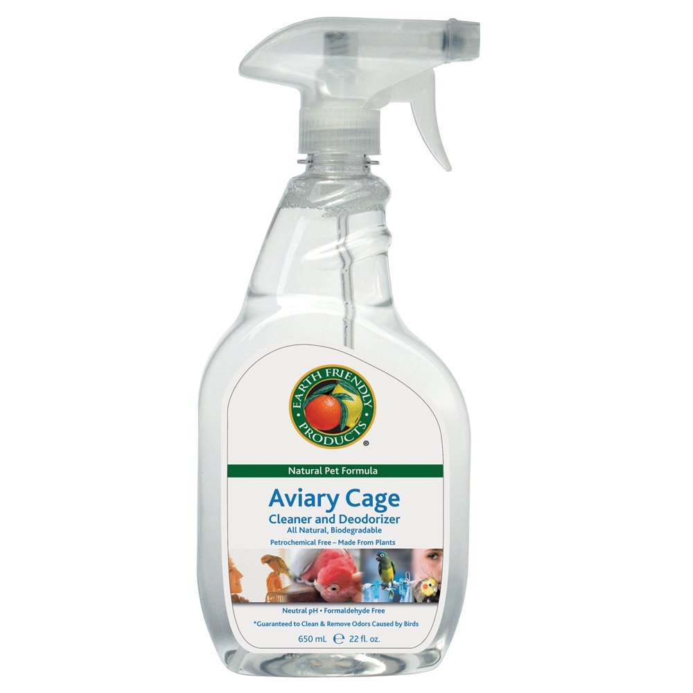Earth Friendly Products Proline 9718/12 EFP Pet Naturals Aviary Cage Cleaner, 22oz Sprayers (Case of 12)