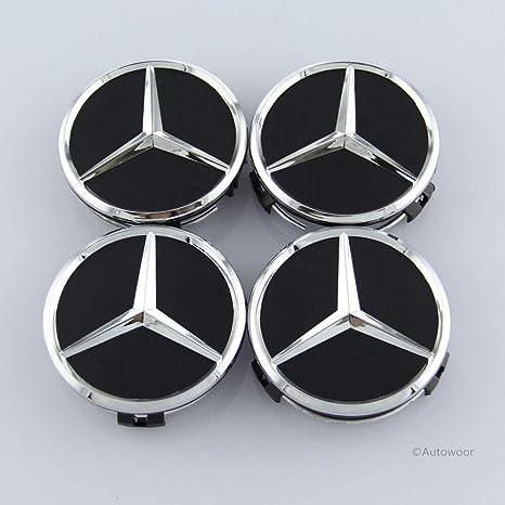 Amazon.com: Autowoor - Tapacubos para Mercedes Benz, 2.953 ...