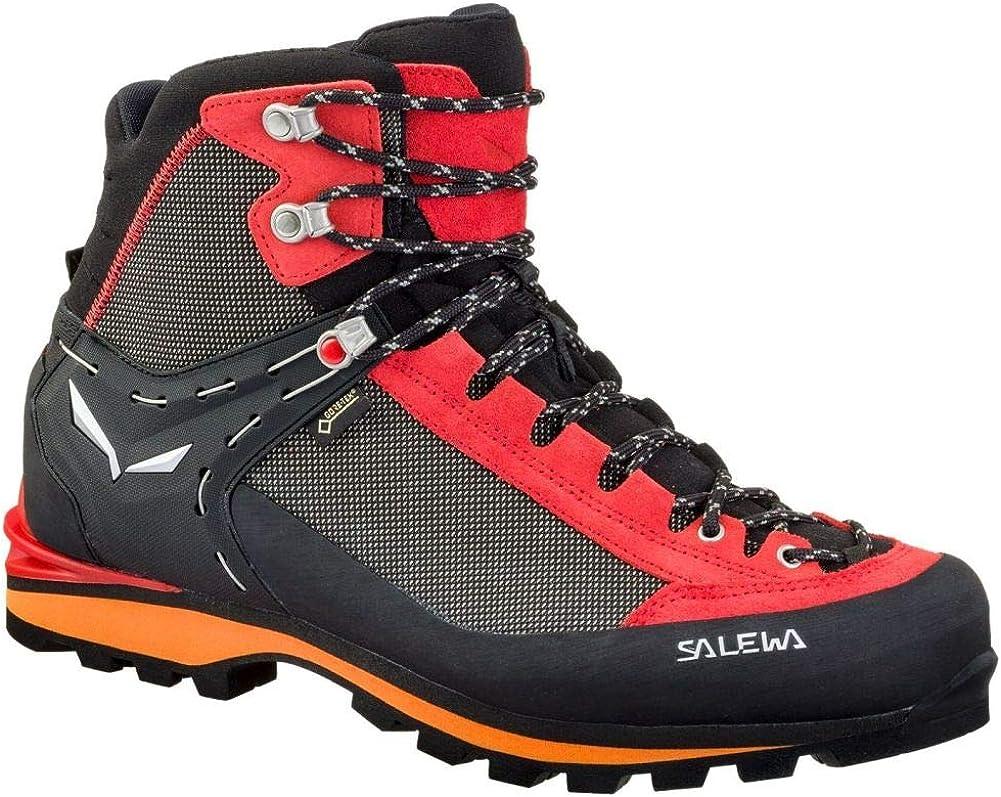 Salewa Crow GTX Mountaineering Boot – Men s Black Papavero