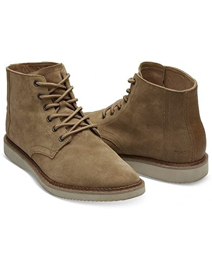 a437fde6a86 Mens Toms Men's Porter Boots - Toffee Suede - Size : 11: Amazon.co ...