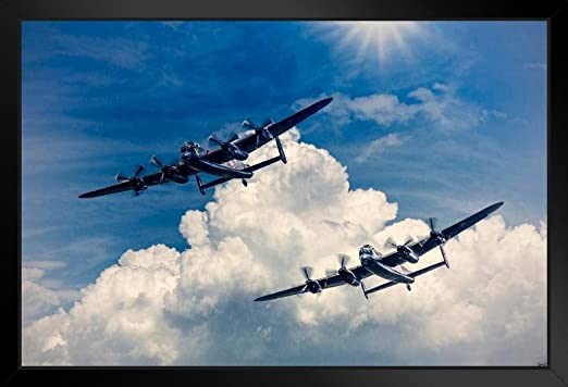 Avro Lancasters Vera and Thumper canvas prints various sizes free delivery