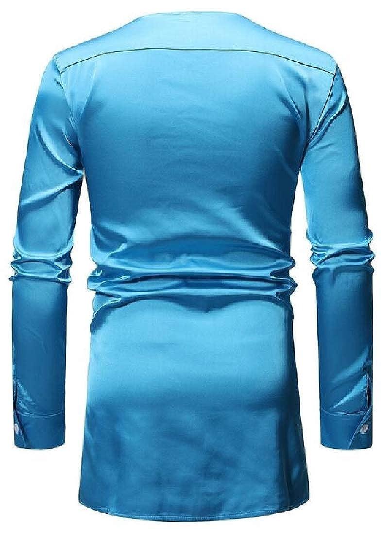 Mens Plaid Print 2 Piece Set Cotton Dashiki African Shirt+Pant Set