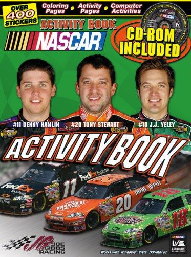 NASCAR / Joe Gibbs Racing Activity book and CD (NASCAR Library Collection)