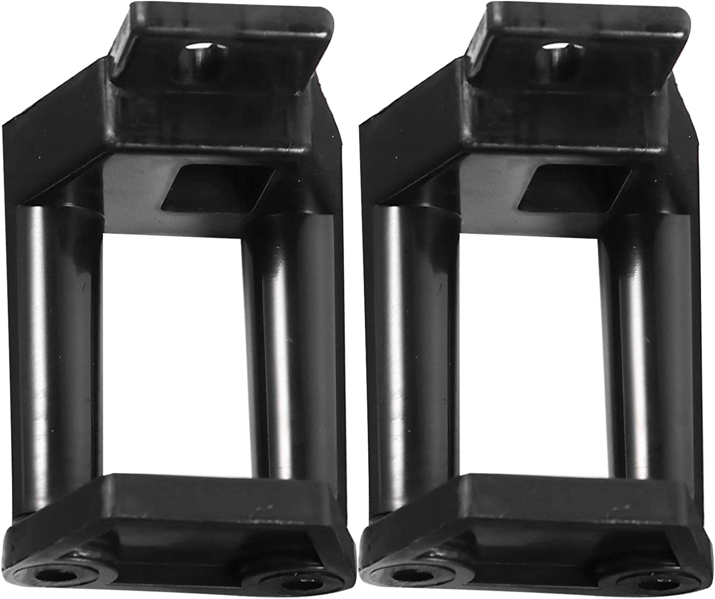 Angoily 2 Uds Puerta Corredera de Granero Hardwares Tapón de Puerta de Granero Montaje en Pared para Diy Piso Puerta de Armario Hardware Suministros