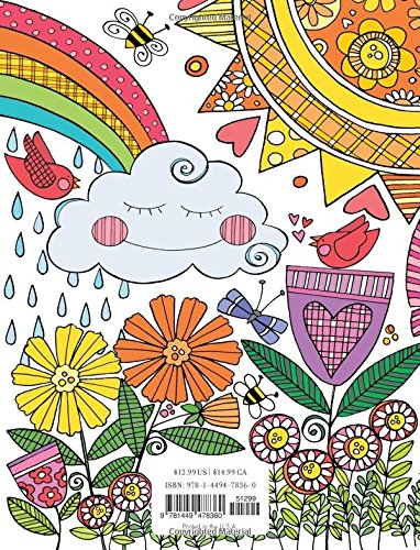 Amazon Posh Adult Coloring Book Inspired Garden Soothing Designs For Fun Relaxation Books 9781449478360 Susan Black