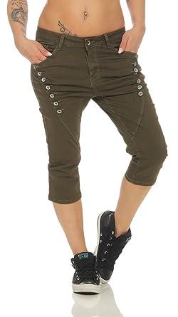 OSAB-Fashion 11580 Damen Jeans 7 8-Jeans Slim-Fit Damenjeans Capri ... c592164b7e