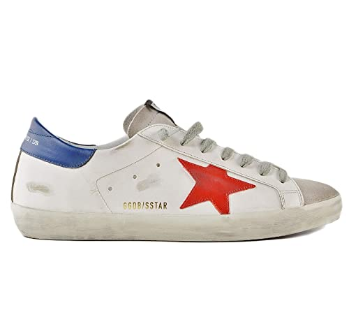 5e68d39eea Golden Goose Scarpe Sneakers Uomo Vintage Superstar G34MS590.N13 ...