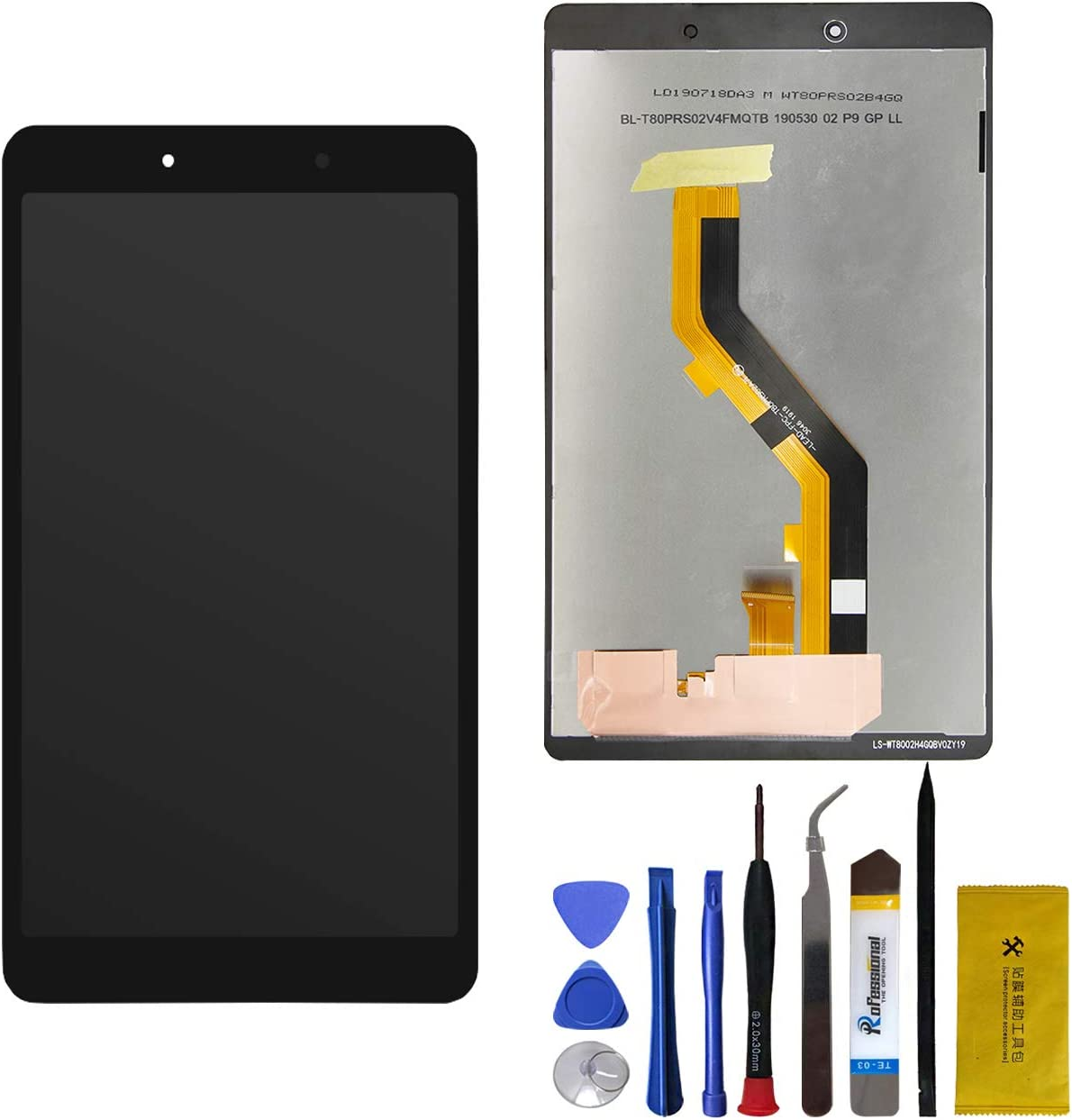 LCD Touch Screen Display Assembly Samsung Galaxy Tab A 8.0