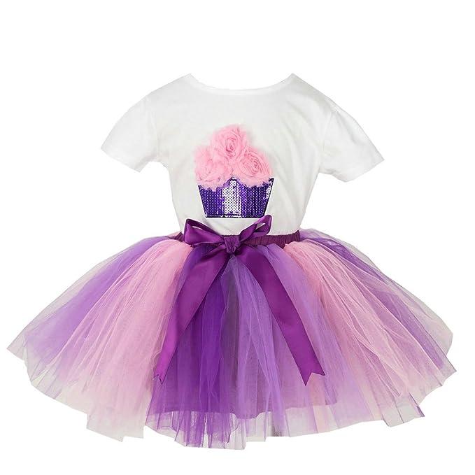Amazon.com: MOLFROA - Conjunto de falda de tutú y ...