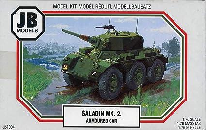 Amazon com: JB Models 1:76 Saladin Mk 2 Armoured Car Plastic