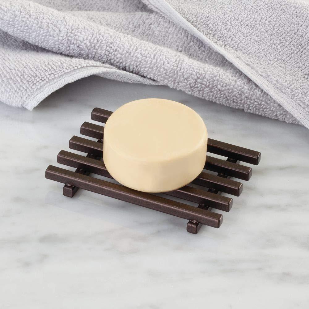 Kitchen Sink Vanities Bronze InterDesign Kyoto Bar Soap Holder for Bathroom Shower