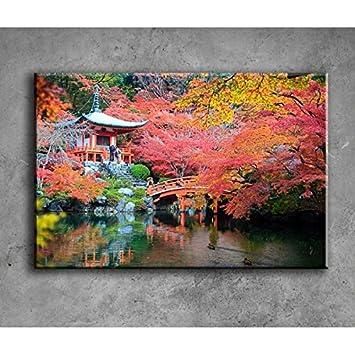 DecoSoon Tableau Jardin Japonais: Amazon.fr: Cuisine & Maison