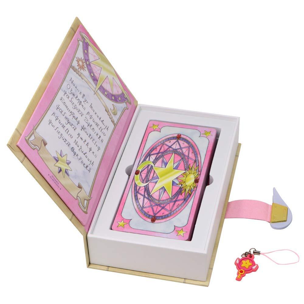 Funrarity Cardcaptor Sakura The Sakura Card Magic Book Set with Seal Key Keychain