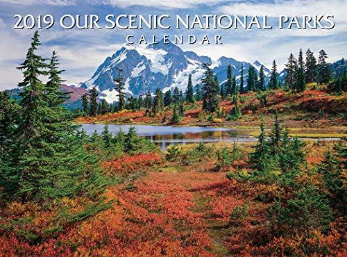 2019 National Parks Calendar ()